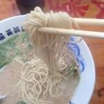 名物元祖長浜ラーメン 長浜屋台 - 麺リフト