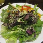 庭のホテル - オーガニックの野菜が旨い!