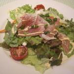 18252810 - イタリア産生ハムのサラダ