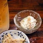 日本再生酒場 - 手作りポテサラ¥210@少なっ!