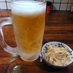 日本再生酒場 - 生ビール¥490
