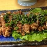 料理 四季彩 - 鶏の唐揚です。
