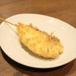 大阪串かつ テンテコマイ - 2013.3 真鯛(1串200円)
