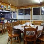 蝦夷 - テーブル席