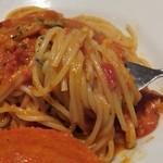 18257766 - 渡り蟹のトマトクリームアップ
