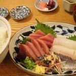 鮮魚・お食事処 山正 - お刺身定食デラックス