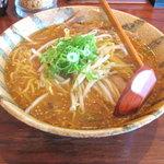 伝丸 - 料理写真:赤味噌ラーメン