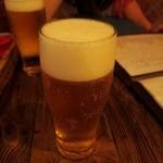 バル・サンラッソォ - 生ビールはエビス