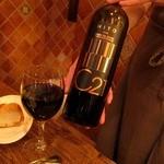 バル・サンラッソォ - 赤ワインにチェンジ