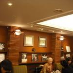 上島珈琲店 - シックな雰囲気