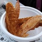 うずら屋 - OSAKAID 2013 立ちあカーレー(比内地鶏の手羽先唐揚 特製カレースパイス風味)