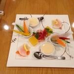 ダックンダック - 料理写真:前菜(野菜)