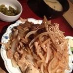 エベレストMOMO - 生姜焼き