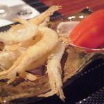 日本料理 櫂 - 白海老とトマト