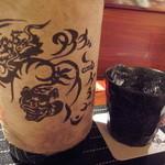 日本料理 櫂 - タイガー&ドラゴン★嘘みたいな焼酎ですね◎笑