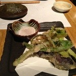18265870 - 春野菜の天ぷら