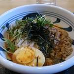 クアテルメ宝泉坊 レストラン - 坦々米麺