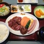 焼肉わかば - 焼き肉ランチ定食  ¥800