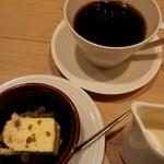 ハタケカフェ - プチドルチェとコーヒー
