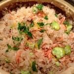 Wasshoidokorowaku - 僕の土鍋炊き込みごはん アップ