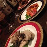 公界 - 牡蠣、ほや、かりんとう