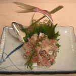 東寿司 - 鯵たたき