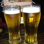 18270251 - まずはビールで乾杯♪