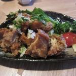 シーズン・ダイナー喜代 - とり肉のネギソース