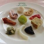オステリア アリエッタ - 前菜
