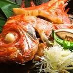 魚八商店 - 三崎近海【金目鯛の煮付け】1980円