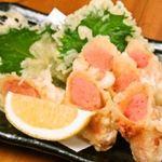 魚八商店 - 【明太子の天麩羅】490円