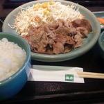 18274332 - 豚の生姜焼き定食