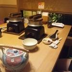 海老名 甲羅本店 - かに釜飯