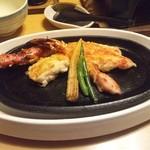 海老名 甲羅本店 - かにステーキ