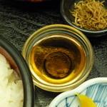 楓林 - 湯葉とろ刺身のおだし☆