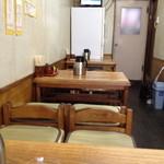 18275393 - テーブル席。