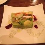 湯島ワイン食堂 パパン - 野菜のテリーヌ