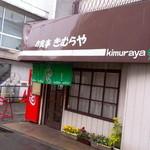 食堂きむらや - お店は京王線柴崎駅すぐのところにあります