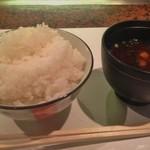 18279197 - ランチご飯・赤ダシ