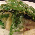 ヨシズハイ - 春野菜の天ぷら