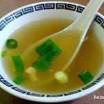 まんぷく亭 - 天津飯のスープ