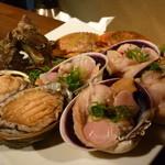 海物焼 新島水産 - ☆海鮮盛りだくさんです(≧▽≦)/~♡☆