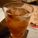 海物焼 新島水産 - ☆ウーロン茶で喉を潤します☆