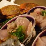 海物焼 新島水産 - ☆大貝も存在感があります☆