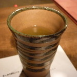 海物焼 新島水産 - ☆温かいお茶でほっこり☆