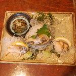 丸竹都寿司本店 - お刺身盛り合わせ