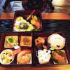 かくれ里 - 料理写真:3段お重でボリューム満点ですが野菜を多く使ったヘルシー料理!