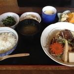 居食家 ヱビス水産 - 鯛カブラ定食2013.4