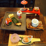 かくれ里 - 2月の料理「里御膳」