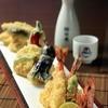 季節野菜と海鮮の天ぷら盛合せ